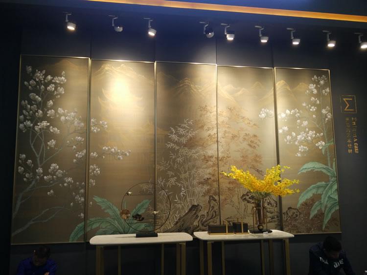 2019年春季软装展会新品鉴赏--壁画